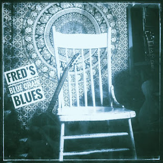 """pull up a seat and enjoy """"Fred's Blue Chair Blues"""" new release by Fred Hostetler"""
