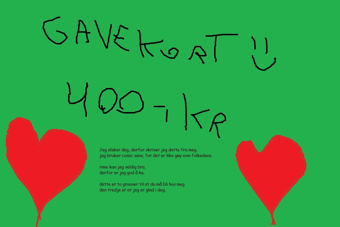 Tina Skriver Glad Valentinsdag