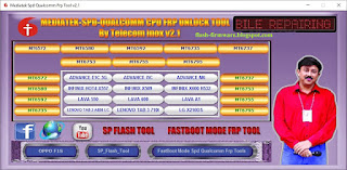 Mediatek SPD Qualcomm CPU FRP Unlock Tool Free Download