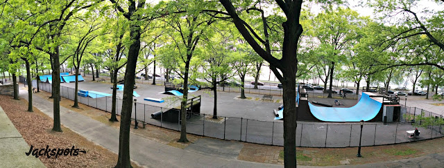 Skatepark Riverside new york
