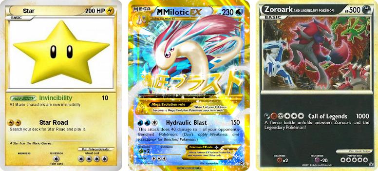 Cards falsificados e proxies (Pokémon TCG)