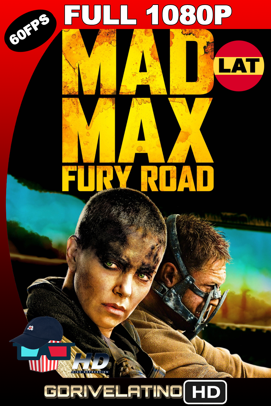 Mad Max: Furia en la Carretera (2015) BDRip FULL 1080p (60 FPS) Latino-Ingles MKV