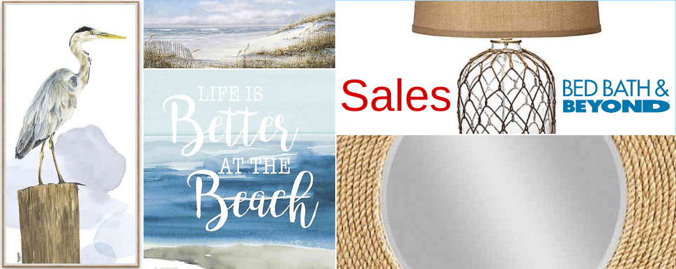 Coastal Decor Sales Bed Bath Beyond