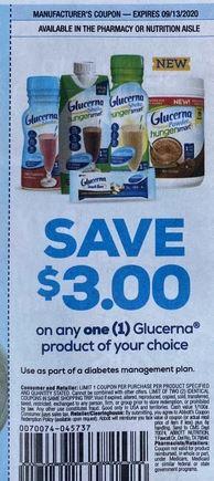 Glucerna coupon