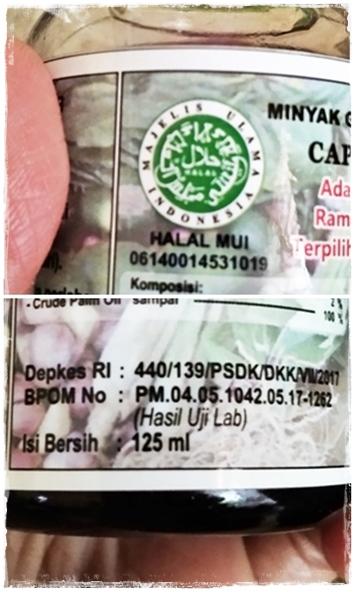 BPOM Minyak Anoa