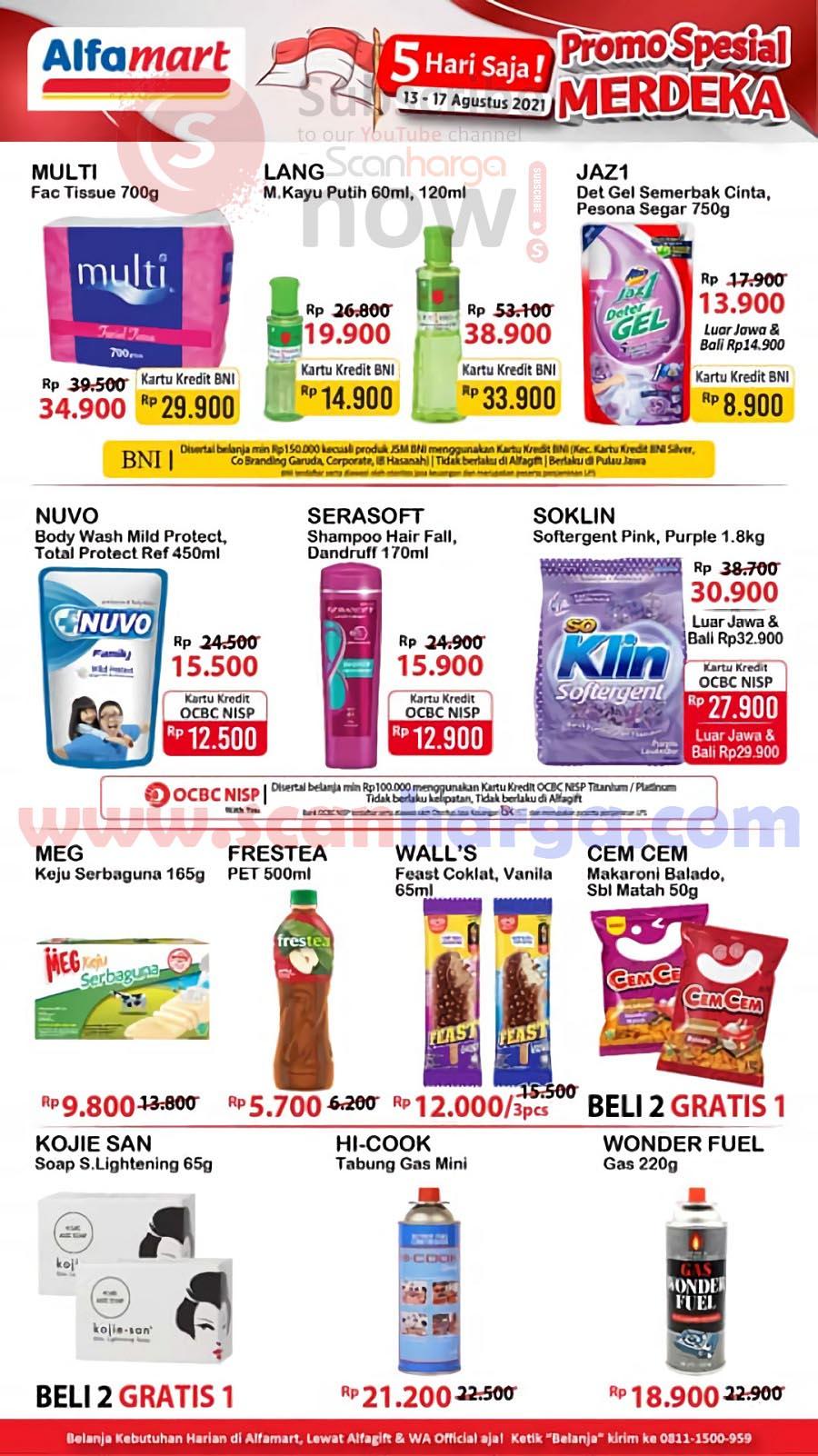 Katalog Promo JSM Alfamart Weekend 13 - 17 Agustus 2021 2