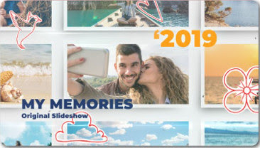 VideoHive – Happy Memories My Family Slideshow – 24194851 [AEP]