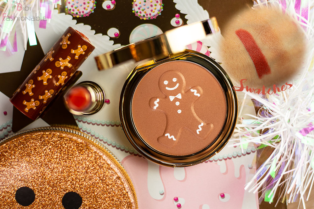 Too Faced Holiday Collection Gingerbread Kit Produkte inkl Swatches