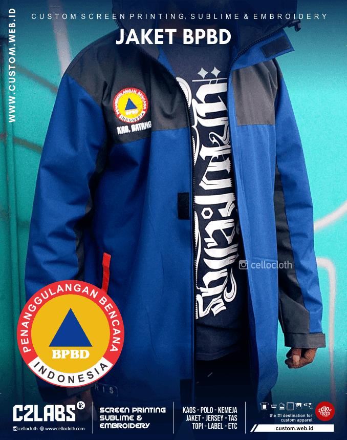Jaket BPBD Badan Penanggulangan Bencana Daerah - Konveksi Jaket Jogja