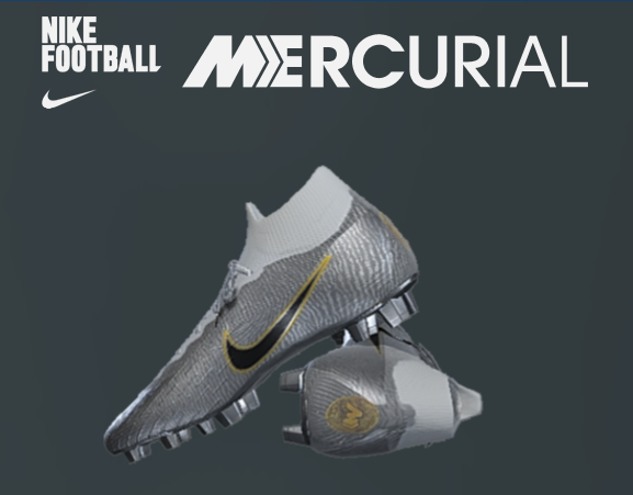 7d7bf0a789c7 PES Boots 2019 Mercurial Superfly Golden Touch-Mbappe. Credits: Texture by  Latinpesedit and Johnny Effects by Johnny