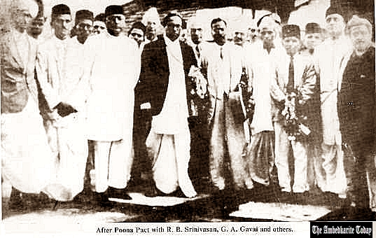 Poona Pact : What Is Poona Pact  24, September ,1932 ? |  INDIA | An agreement between Dr. Bhimrao Ambedkar and Mahatma Gandhi
