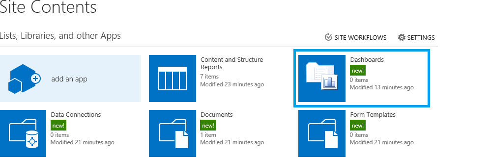 How to create dashboard using bi in sharepoint 2013 for Sharepoint dashboard templates