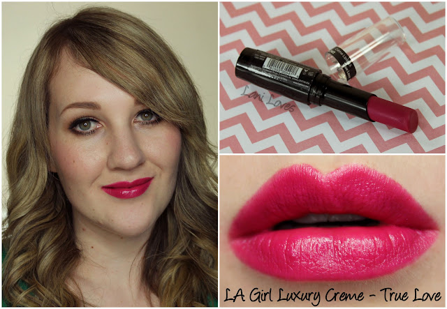 LA Girl Luxury Creme - True Love lipstick swatch