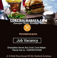 Job Vacancy at Myoungdong Gyoza Surabaya November 2019