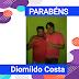 🥳🎊 Feliz aniversário hoje também para Diomildo Costa 🎂👏🎉