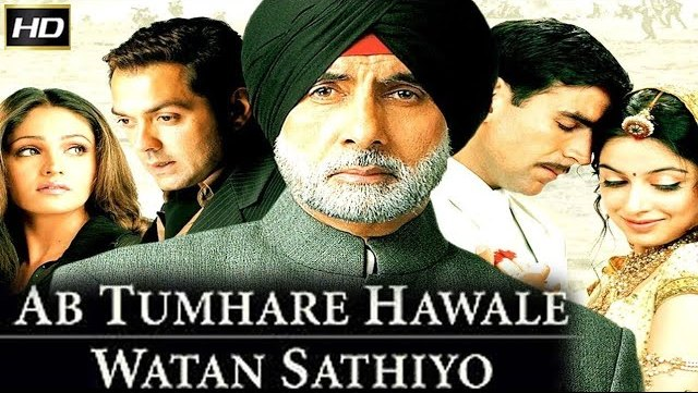 Ab Tumhare Hawale Watan Sathiyo Songs Lyrics [2004]