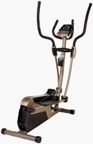 Exerpeutic 5000 Magnetic Elliptical Trainer with Double Transmission Drive and Bluetooth Technology, features reviewed & compared with Exerpeutic 4000