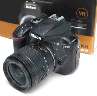 Kamera Nikon D3400 Second di Malang