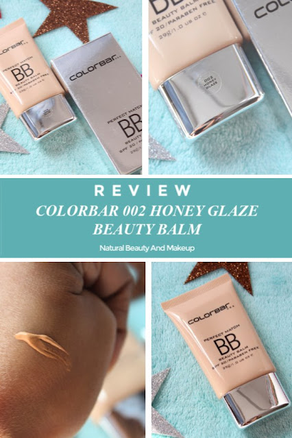 Colorbar Perfect Match Beauty Balm 002 Honey Glaze, SPF 20 Review