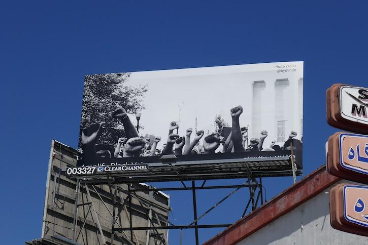 Amplify Black Voices Amazon billboard