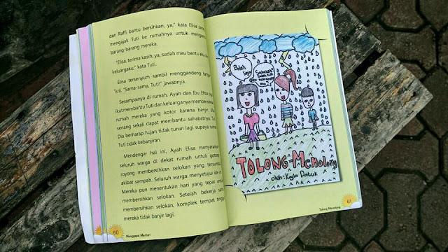 """Buku Anak """"Menggapai Mentari"""""""