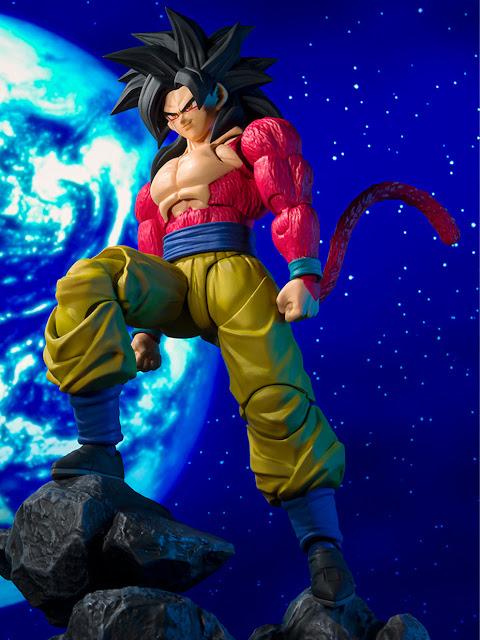 Dragon Ball GT – S.H. Figuarts Super Saiyan 4 Son Goku, Tamashii Nations