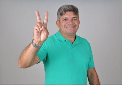 Os agradecimentos do Vereador Valdinho Brandão