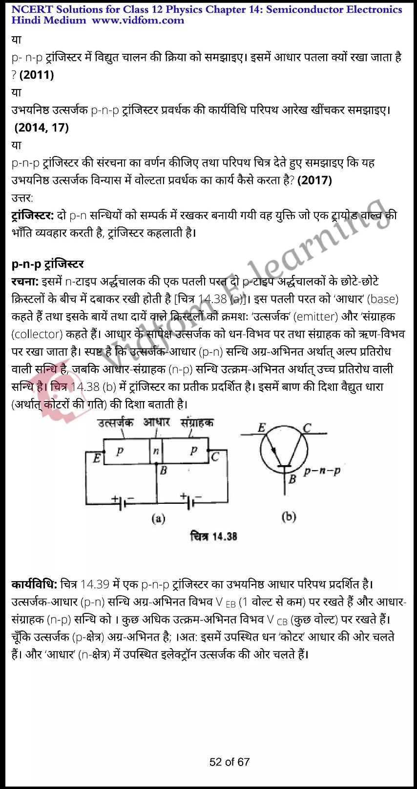class 12 physics chapter 14 light hindi medium 52