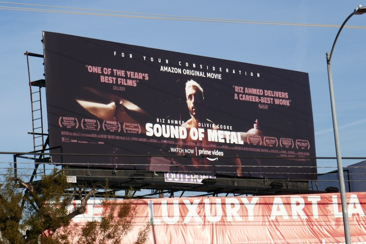 Sound of Metal FYC billboard