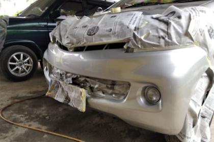 Trik Mengecat Mobil Warna Silver Agar Tidak Belang
