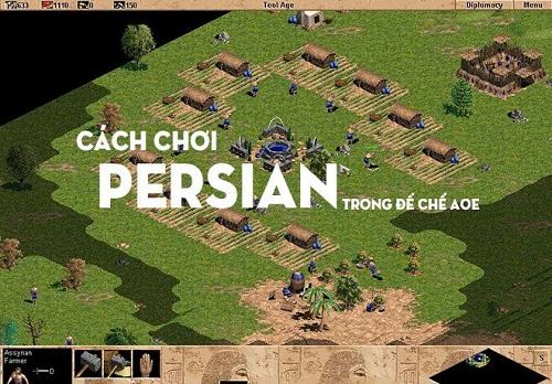 Persian đc biết đến với những tay chém lạc đà khét lẹt
