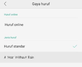 Cara Mengganti Font Android 6