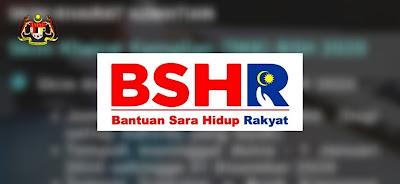 Permohonan Rayuan BSH 2020 Bantuan Sara Hidup (Borang)