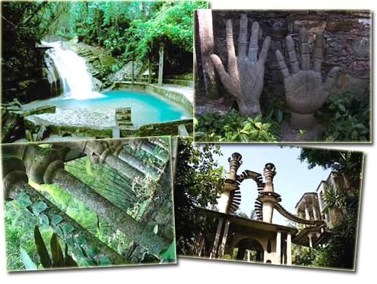 Las Posas - Jardim Surreal - Mosaico