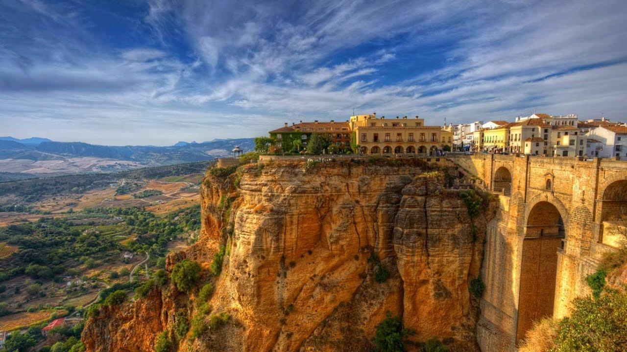 Город Ронда в Испании