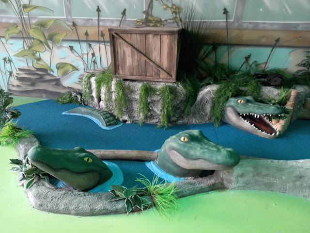 Gator Adventure Golf at the Escape Entertainment centre in Chorley