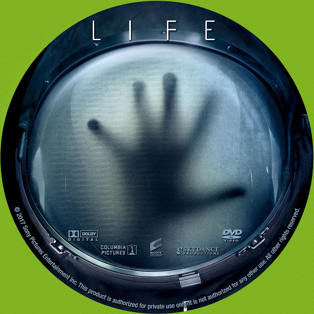 Life DVD Label