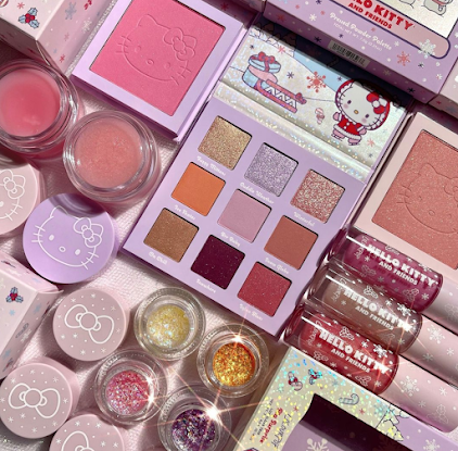 Hello Kitty makeup collection