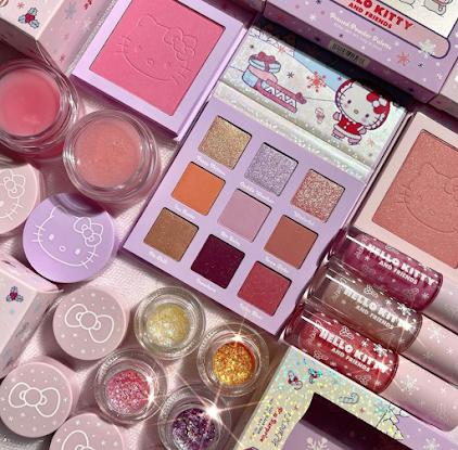 Hello Kitty kolekcja makijażowa
