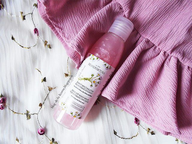 Manufaktura Sedmokráska jemný umývací balzam na intímnu hygienu so sedmokráskou a kyselinou mliečnou