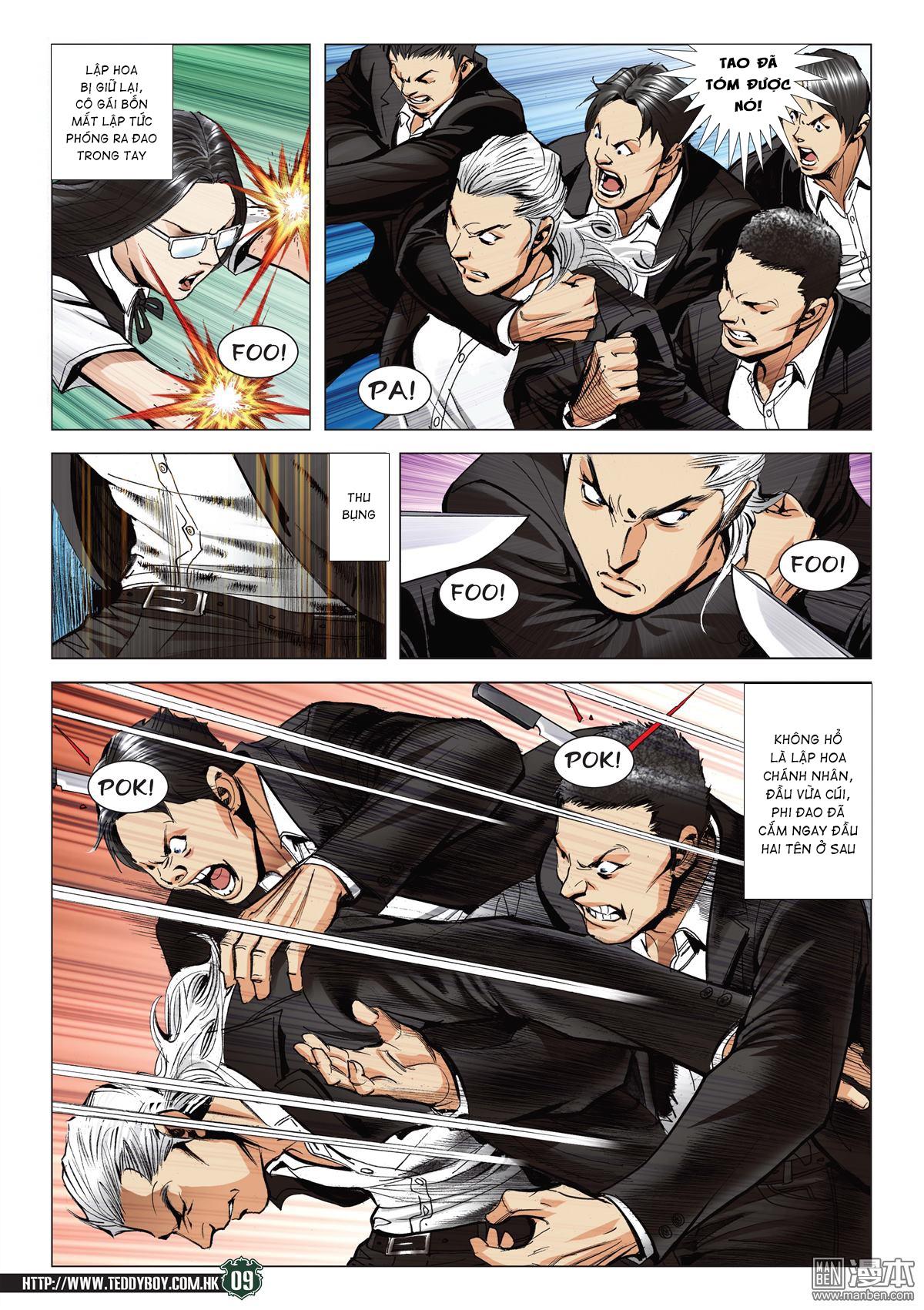 Người Trong Giang Hồ RAW chap 2070 - Trang 8