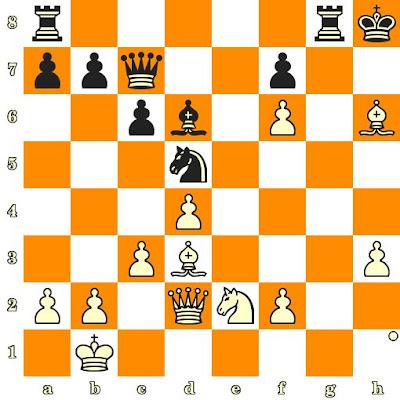 Les Blancs jouent et matent en 3 coups - Carl Poschauko vs Jan-Heim Donner, Helsinki, 1952