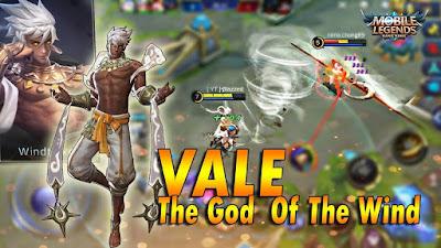 Hero Mage Vale Mobile Legends (Sang Pengendali Udara)