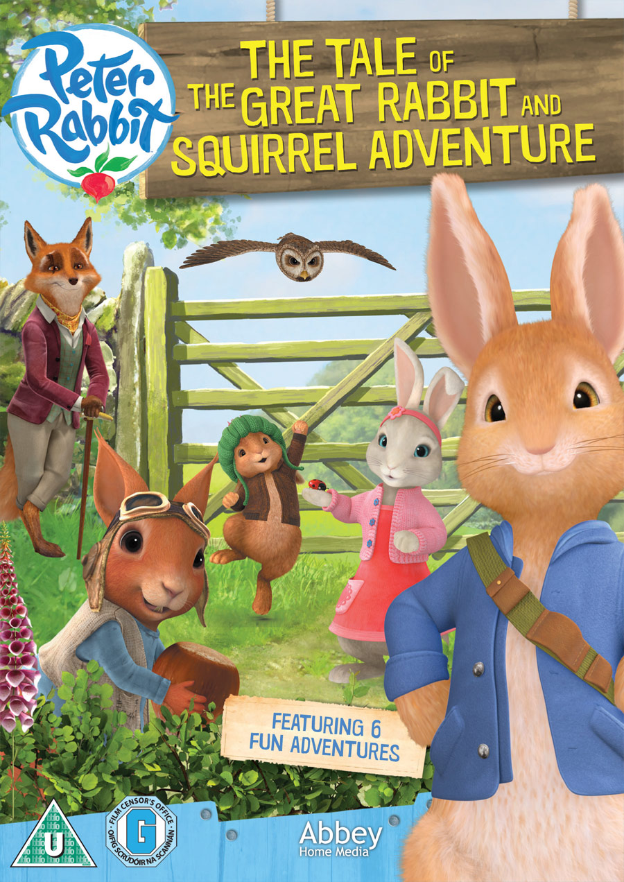 Peter Rabbit, The Tale of the Great Rabbit DVD, Christmas giveaway