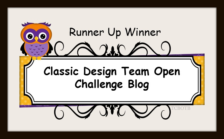 Runner Up Winner Classic Design Team Open Challenge