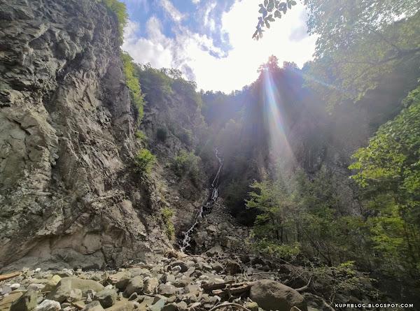 Ручей, впадающий в реку Ахохчай