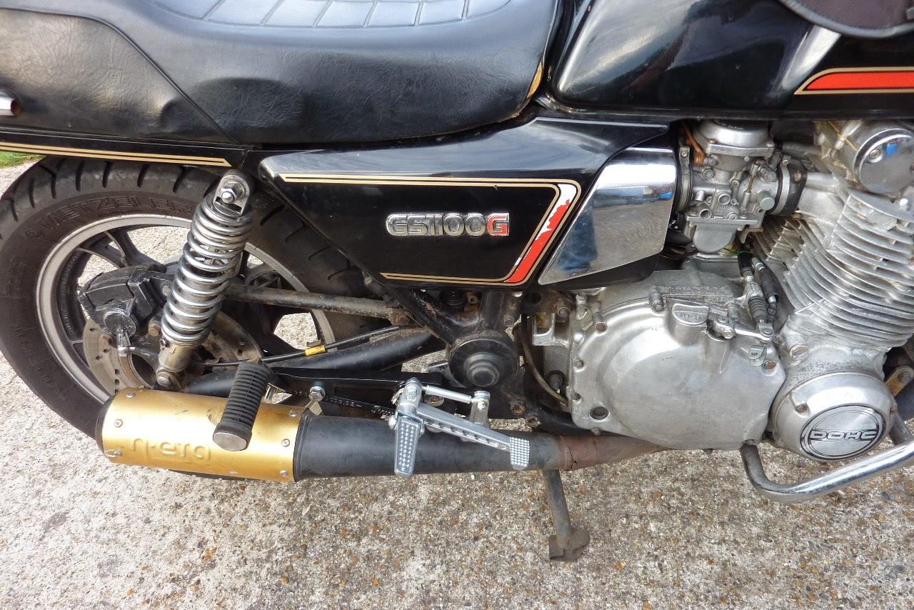 Suzuki GS1100 G 1982 Road Bike: Rectifying an Electrical ... on