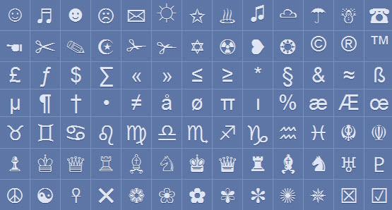 Tổng Hợp List Symbol (Ký Tự Đặc Biệt)