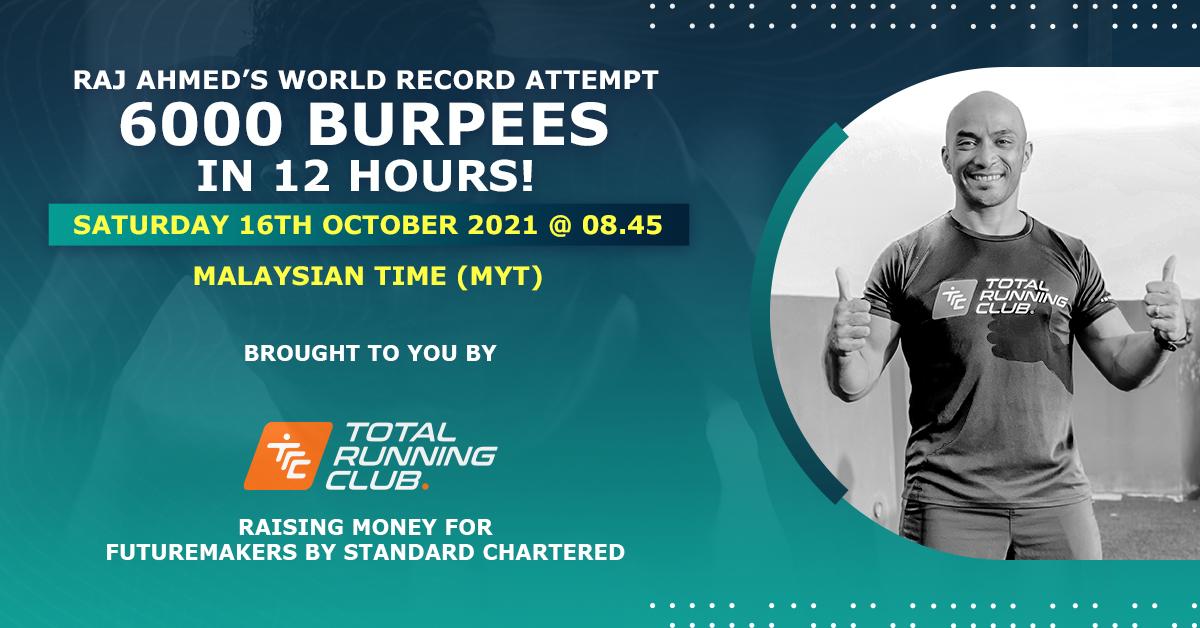 Burpee World Record Attempt