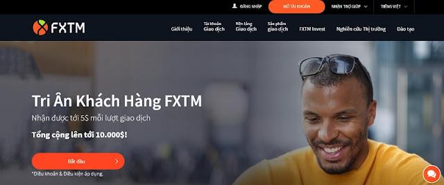 Các bước mở tài khoản sàn ForexTime (FXTM)